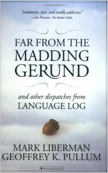 book cover or far from the madding gerund